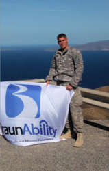 BraunAbility receives veteran award.